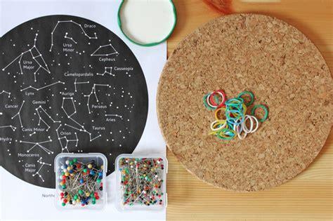 Manualidad para niños: mapa de constelaciones