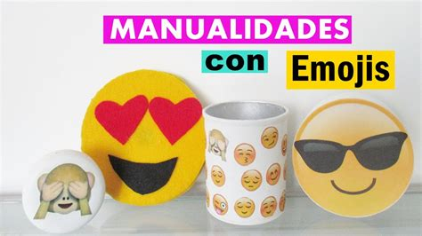 Manualidades con Emojis   YouTube