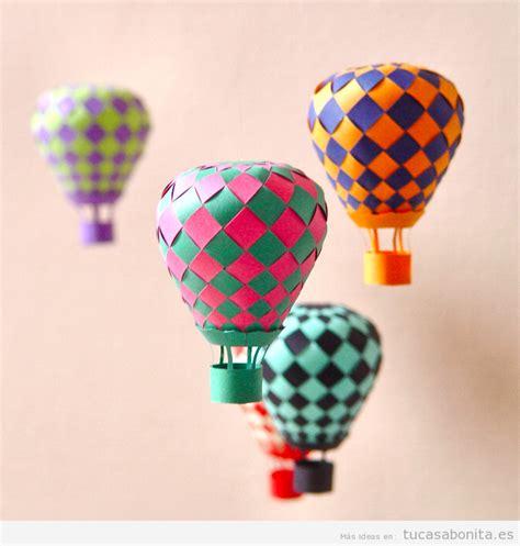 Manualidades con papel para decorar tu casa DIY   Tu casa ...
