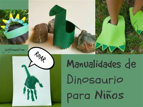 Manualidades de Dinosaurio para Niños   Just for Mami