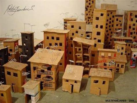 Manualidades divertidas: una ciudad de cartón