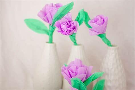 Manualidades faciles para el dia de la madre: flores de papel