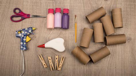 Manualidades infantiles de reciclaje de tubos de cartón ...