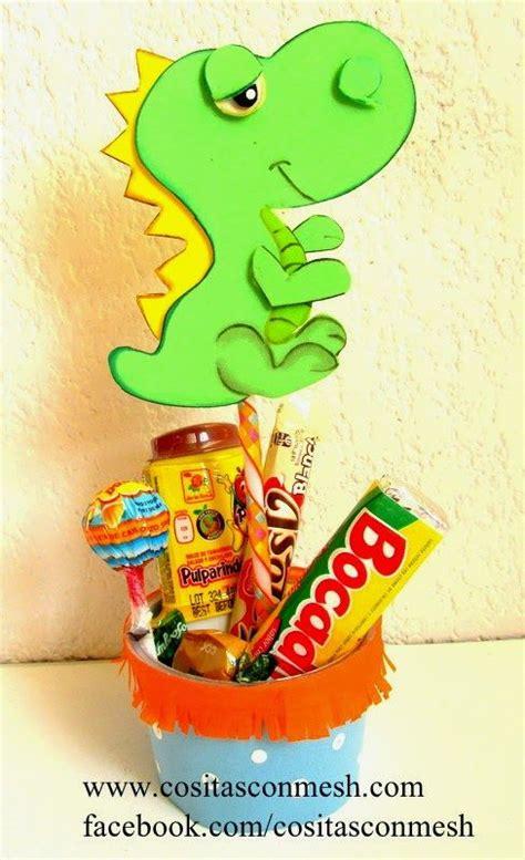Manualidades para dia del niño dulcero dinosaurio   Nuevas ...