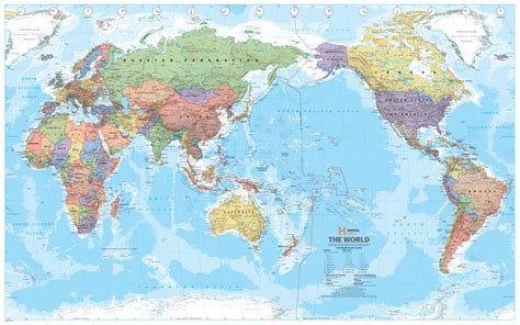 Map Centre Parramatta   World Hema Super Laminated 1520 x 990