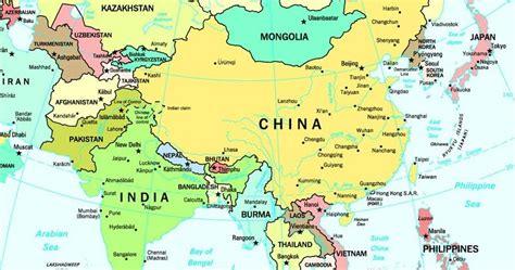 MAP: MAPA DE ASIA