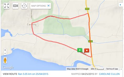 Map My Run – The Runners Mile