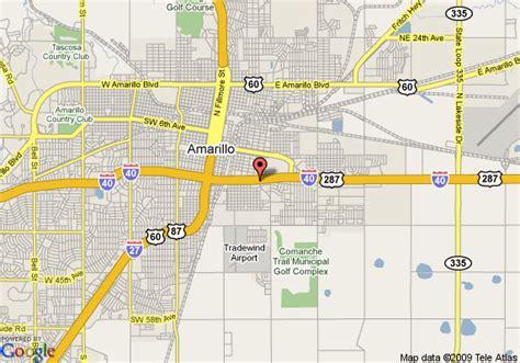 Map Of Amarillo | My blog