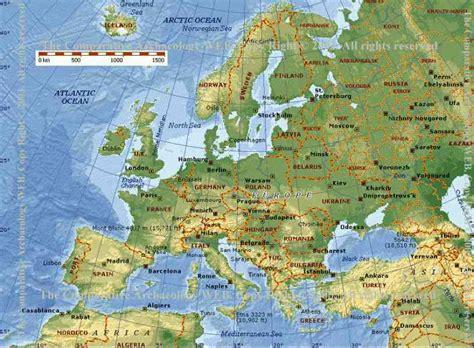 Map Of Europe Google Maps   HolidayMapQ.com