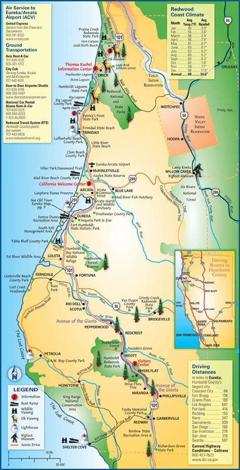Map of Humboldt County | Humboldt County