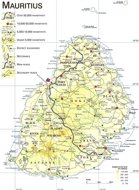 Map of Mauritius. Discover the Map of Mauritius.