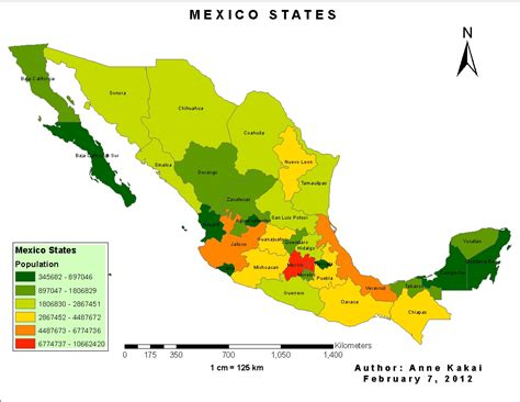 Map Of Mexico States Pictures to Pin on Pinterest   PinsDaddy