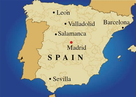 map of spain   Map Pictures