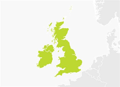 Map of United Kingdom & Republic of Ireland | TomTom