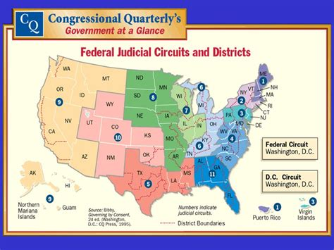 Map Us District Courts Lower Federal Courts Federal ...