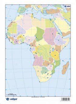 mapa áfrica político: edigol ediciones: 9788492525317 ...