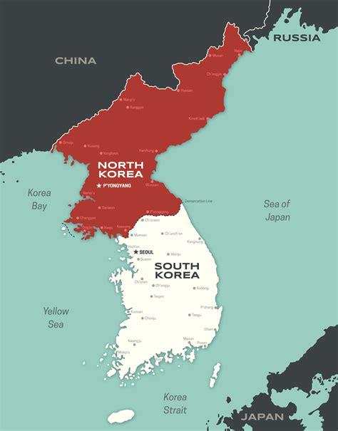 mapa corea   Historias de nuestra Historia