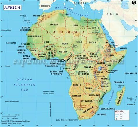 Mapa de Africa | Mapa Africa