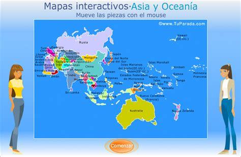 Mapa de Asia y Oceanía para armar.. Mapas, ver tarjetas ...