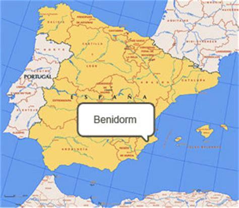 Mapa De Benidorm   threeblindants.com