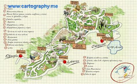 Mapa de Cabárceno, Cantabria - EOSGIS Cartografia Magazine