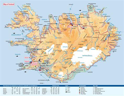 Mapa de carreteras de Islandia | ISLANDIA | Pinterest ...