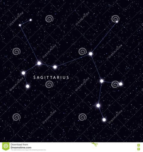 Mapa De Cielo Con El Nombre De Las Estrellas Y De Las ...
