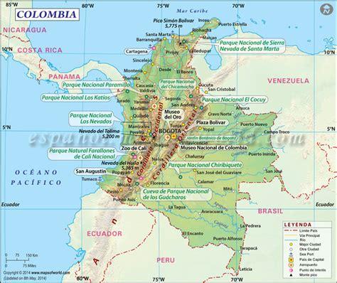 Mapa de Colombia | Mapa Colombia