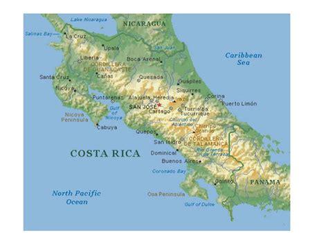 Mapa de Costa Rica | Descarga los mapas de Costa Rica