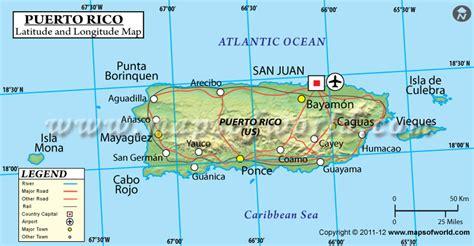 Mapa De Cuba Y Puerto Rico | La Salsa