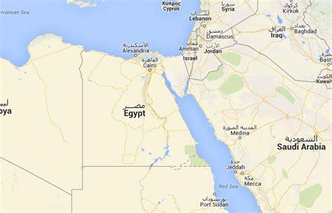 Mapa de Egipto, donde está, queda, país, encuentra ...