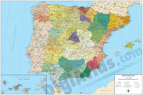 Mapa de España - JungleKey.es Imagen