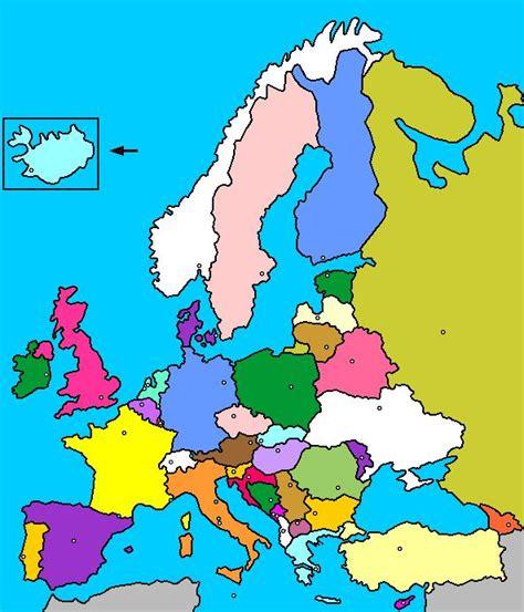 Mapa de europa politico - Imagui