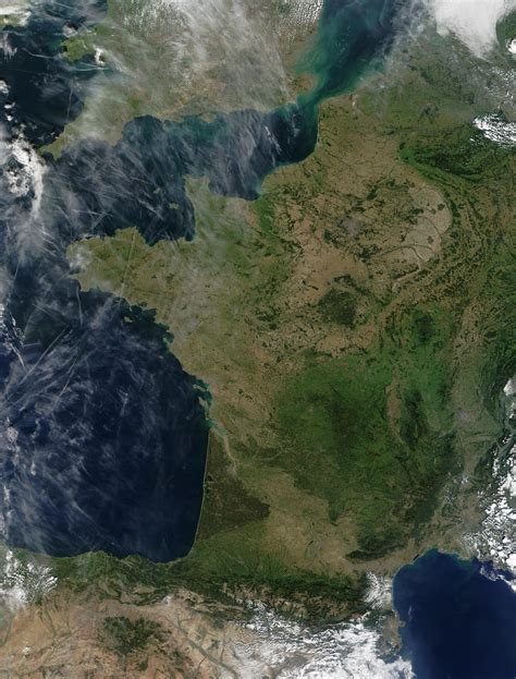 Mapa de Francia - mapa.owje.com