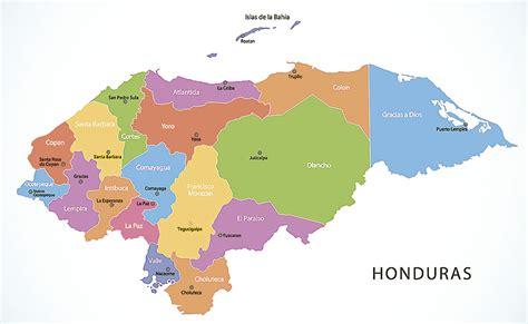 Mapa de Honduras ~ Online Map