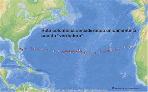 Mapa de la ruta del segundo r viaje de cristobal colon ...