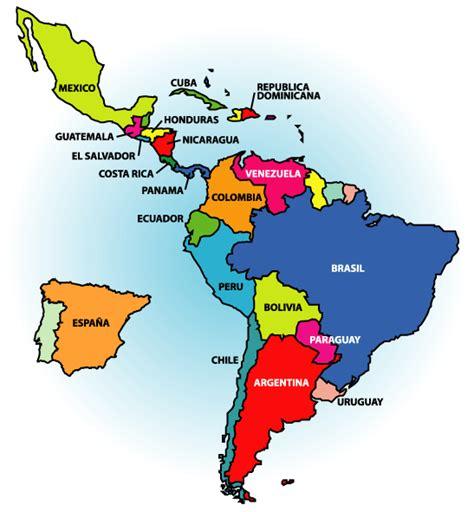 Mapa de latinoamerica con nombres   Imagui