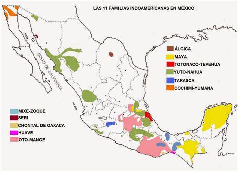 Mapa De Lenguas Indigenas En Mexico