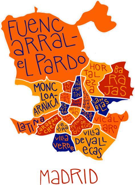 Mapa De Los Distritos De Madrid   My blog