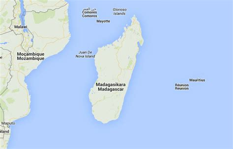 Mapa de Madagascar, donde está, queda, país, encuentra ...