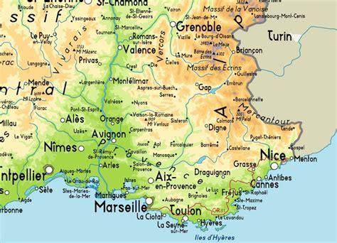 Mapa de Marsella - Viajar a Francia