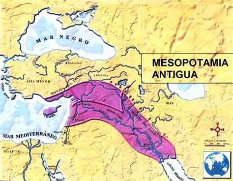 Mapa de Mesopotamia Antigua | SocialHizo