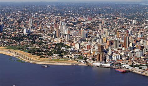 Mapa de Paraguay, donde está, queda, país, encuentra ...