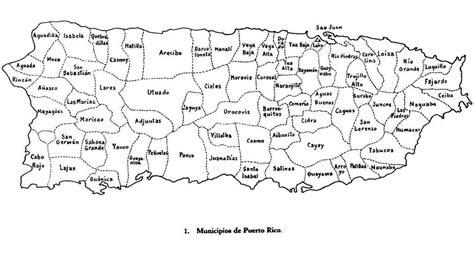 mapa de puerto rico con los municipios   Google Search ...