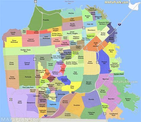 Mapa de San Francisco   TurismoEEUU