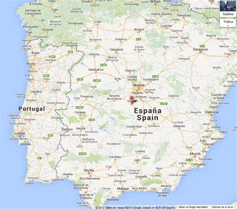 Mapa De Toledo España | My blog