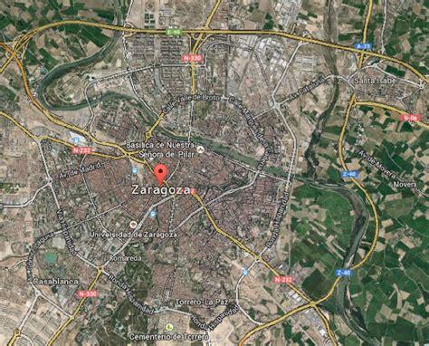 Mapa de Zaragoza / Callejero de Zaragoza con Calles y Avenidas