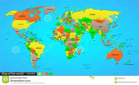 MAPA DEL MUNDO   Online world map