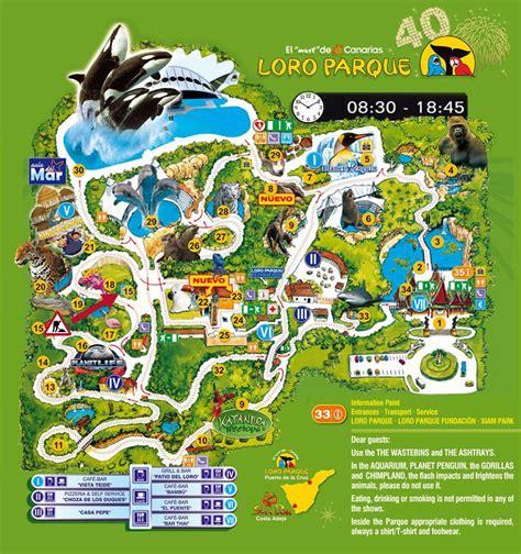 Mapa del parque - Yelp