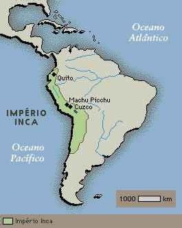 Mapa do Império Inca - História do Mapa do Império Inca ...